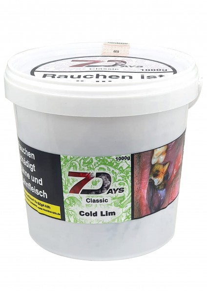 7Days Classic - Cold Lim - 1kg