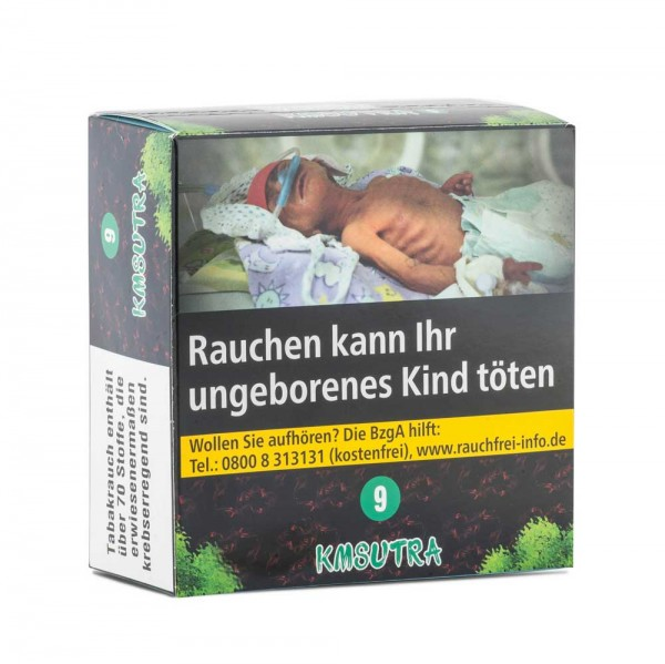 Aqua Mentha Premium Tobacco - Kmsutra (9) - 200g