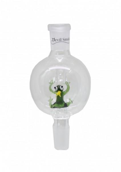 Devil Smoke - Molassefänger - Fancy Frog Grün-Weiß-Gelb-WS 18/8