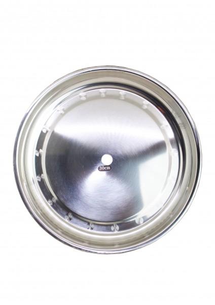 Kohleteller - 30cm - Steel