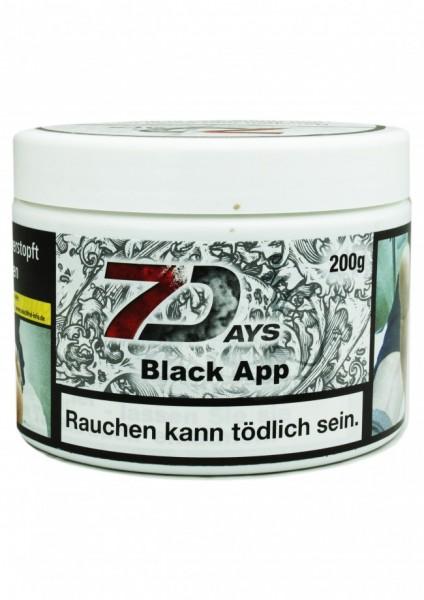 7Days - Black App - 200g