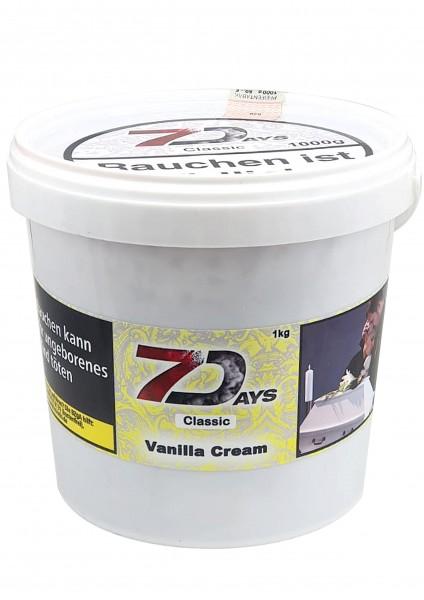 7Days Classic - Vanilla Cream - 1kg