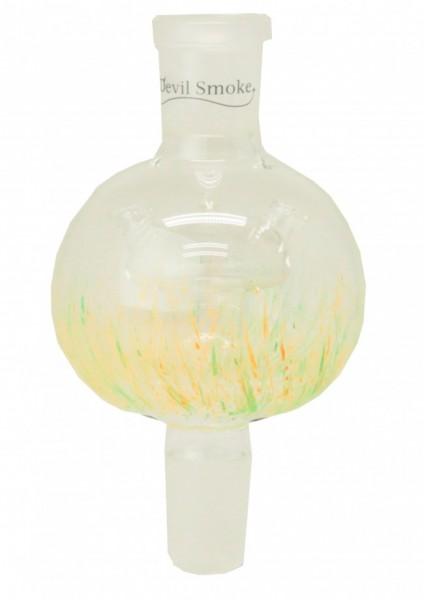 Devil Smoke - Mini Molassefänger - Mushroom Colored - Grün-Neon/Orange- Neon -18/8