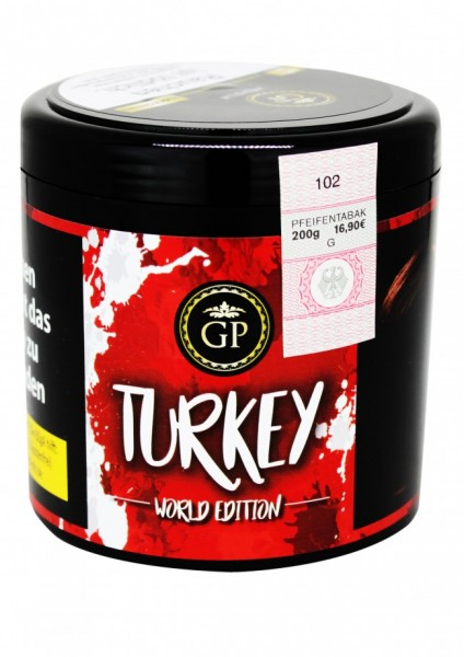 Golden Pipe Worldedition - Turkey - 200g