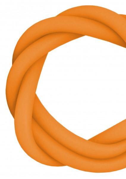 Silikonschlauch - Neon Orange - MATT