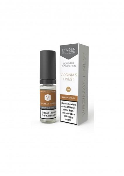 Lynden Liquid - Virginia's Finest 6mg Nikotin - 10ml