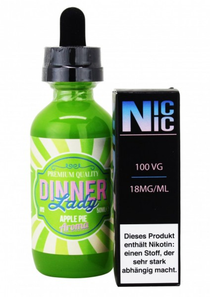 Dinner Lady - Apple Pie - 60ml inkl. Nic-Shot