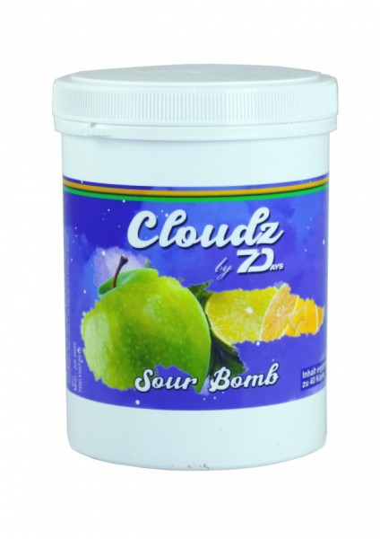 Cloudz by 7Days - Sour Bomb - 500g