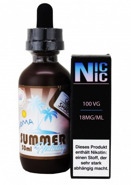 Summer Holidays - Sun Tan Mango - 60ml inkl. Nic-Shot