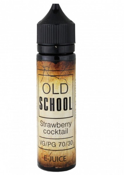 VoVan Liquid Old School - Strawberry Cocktail - 50ml/0mg