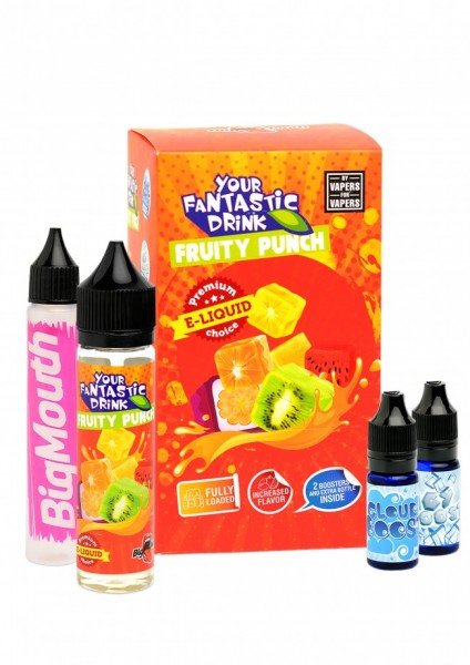 Big Mouth Liquid - Your Fantastic Drink : Fruity Punch - 50ml/0mg