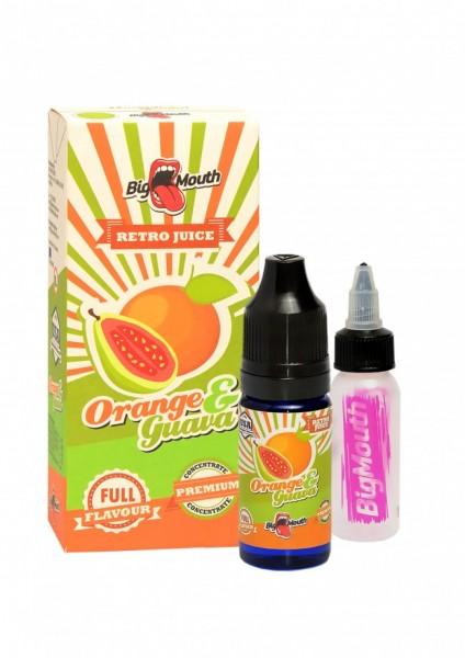 Big Mouth Retro Juice - Orange & Guava - 10ml