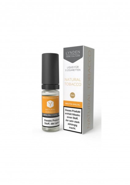 Lynden Liquid - Natural Tobacco 6 mg Nikotin - 10ml