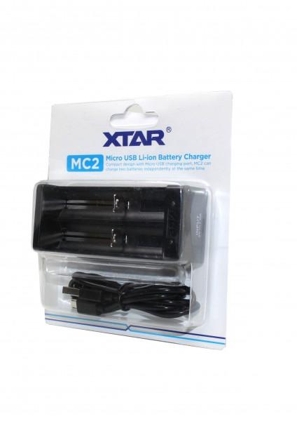 XTAR - MC2 - Akkuladegerät