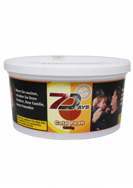 7Days Platin - Cold Peah - 1kg