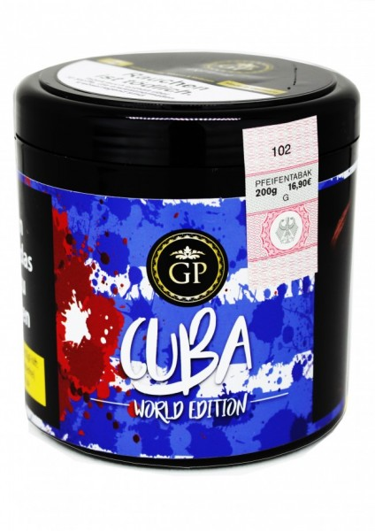 Golden Pipe Worldedition - Cuba - 200g