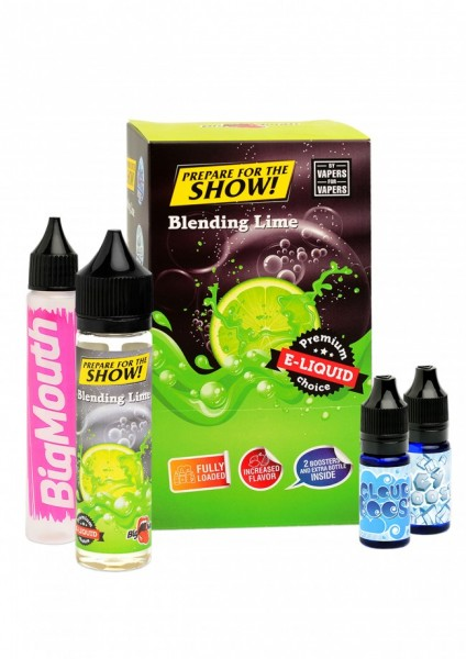 Big Mouth Liquid - Prepare for the show! : Blending Lime - 50ml/0mg
