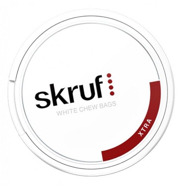 Skruf - Xtra White - Dose
