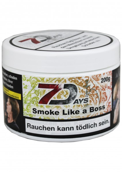 7Days - Smoke like a Boss - 200g