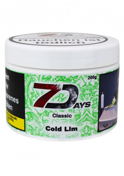 7Days Classic - Cold Lim - 200g
