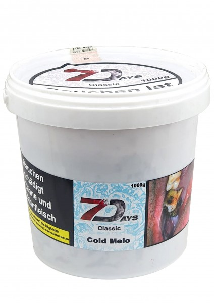 7Days Classic - Cold Melo - 1kg