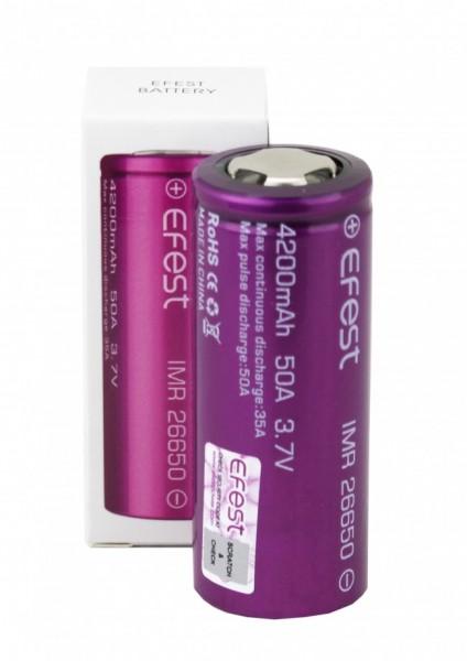 Efest Akku - IMR26650 - 3,7 Volt 4200mAh Li-Ion
