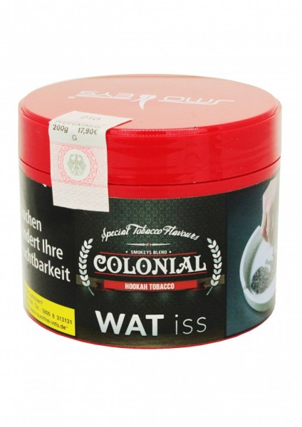 Colonial Tobacco - Wat iss - 200g