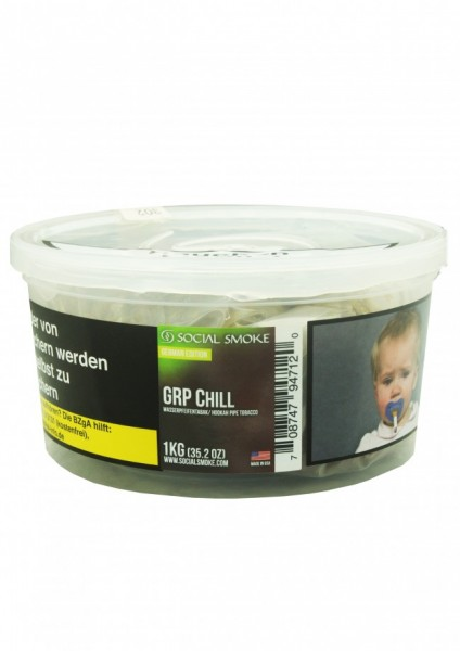 Social Smoke - GRPChill - 1kg