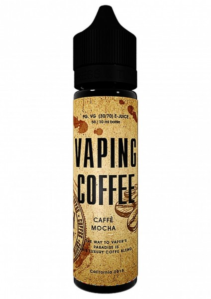 VoVan Liquid Coffe - Cafe Mocha - 50ml/0mg