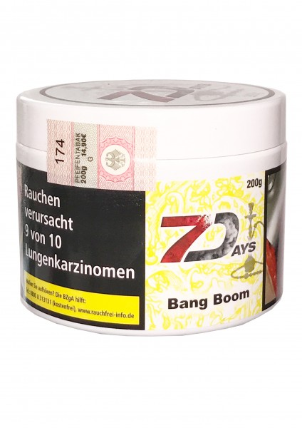 7Days - Bang Boom - 200g