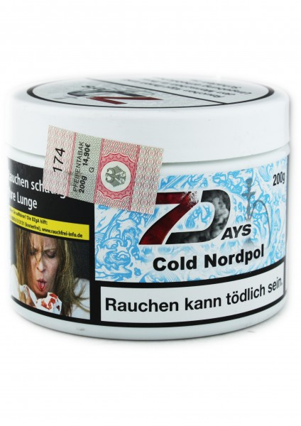 7Days - Cold Nordpol - 200g