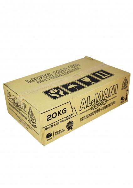 Al-Mani Coco - Naturkohle - 20 kg