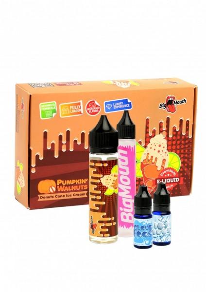Big Mouth Liquid - Pumpkin' Walnuts : Donuts Cone Ice Cream - 50ml/0mg