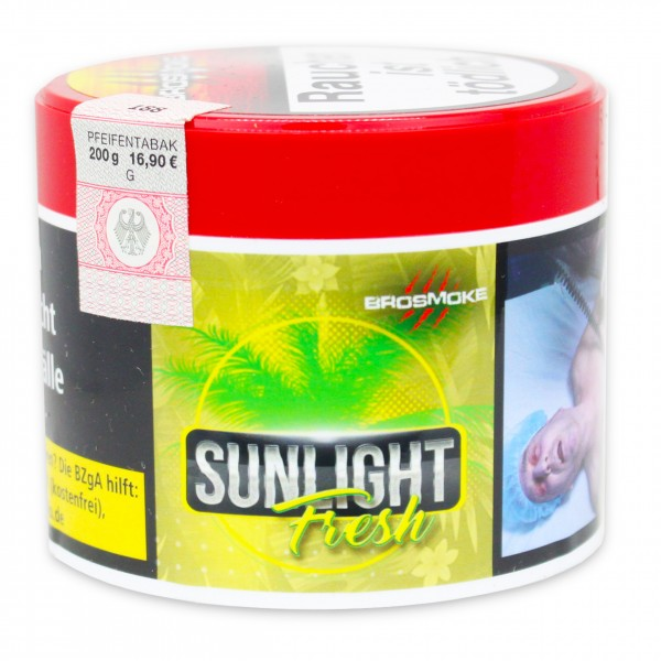Brosmoke Tabak - Sunlight Fresh - 200g