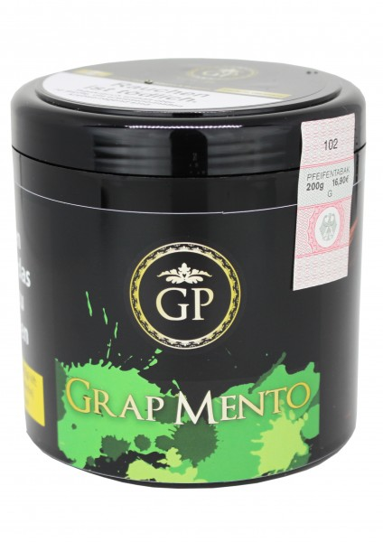 Golden Pipe - Grape Mento - 200g