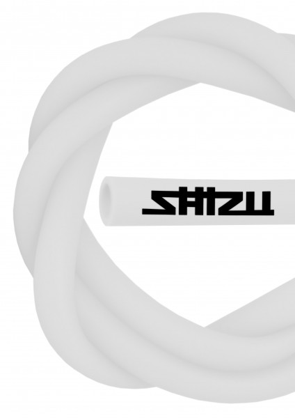 ShiZu Silikonschlauch - Matt - White