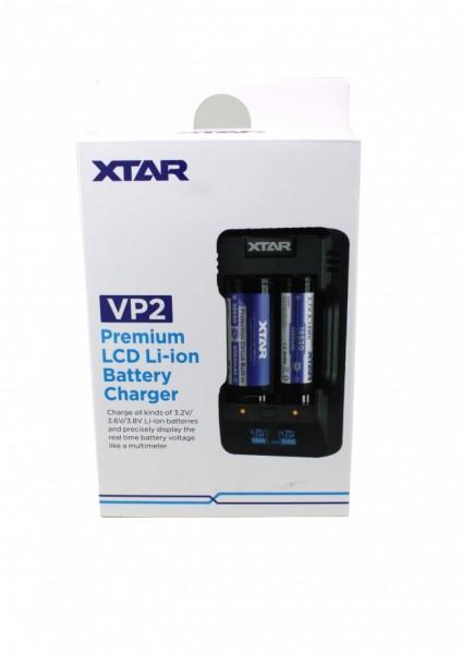 XTAR - VP2 - Akkuladegerät
