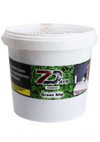 7Days Classic - Green Slip - 1kg