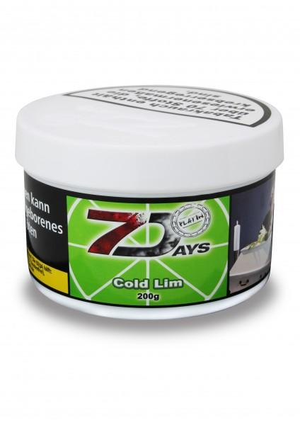 7Days Platin - Cold Lim - 200g