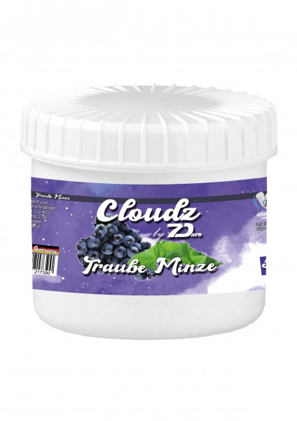 Cloudz by 7Days - Traube Minze - 50g