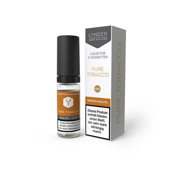 Lynden Liquid - Pure Tobacco 6mg Nikotin - 10ml