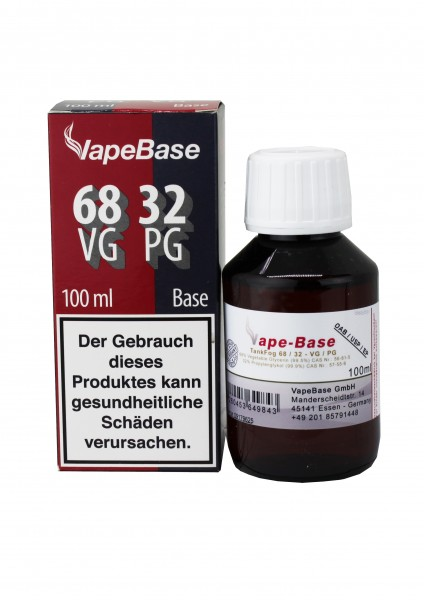 Vape Base - Bunkerbase - TankFog 68/32 - 100ml