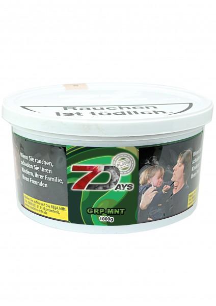 7Days Platin - GRP-MNT - 1kg