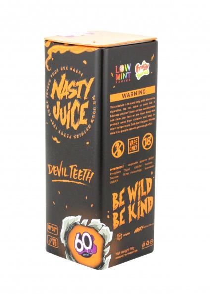 Nasty Juice Liquid - Devil Teeth - 50ml/0mg