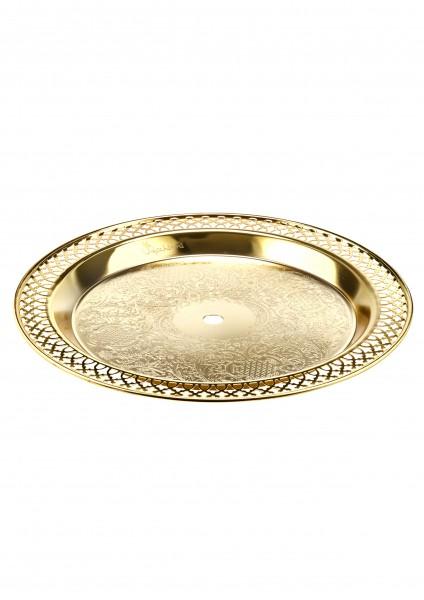 Dschinni - Kohleteller - Gold - 33cm