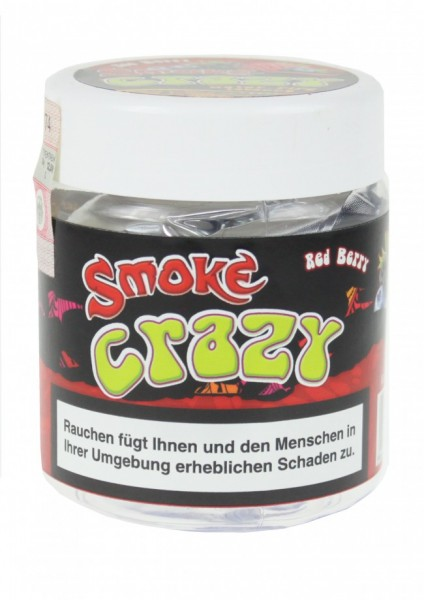 Smoke Crazy - Red Berry - 150g