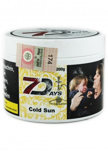 7Days - Cold Sun - 200g